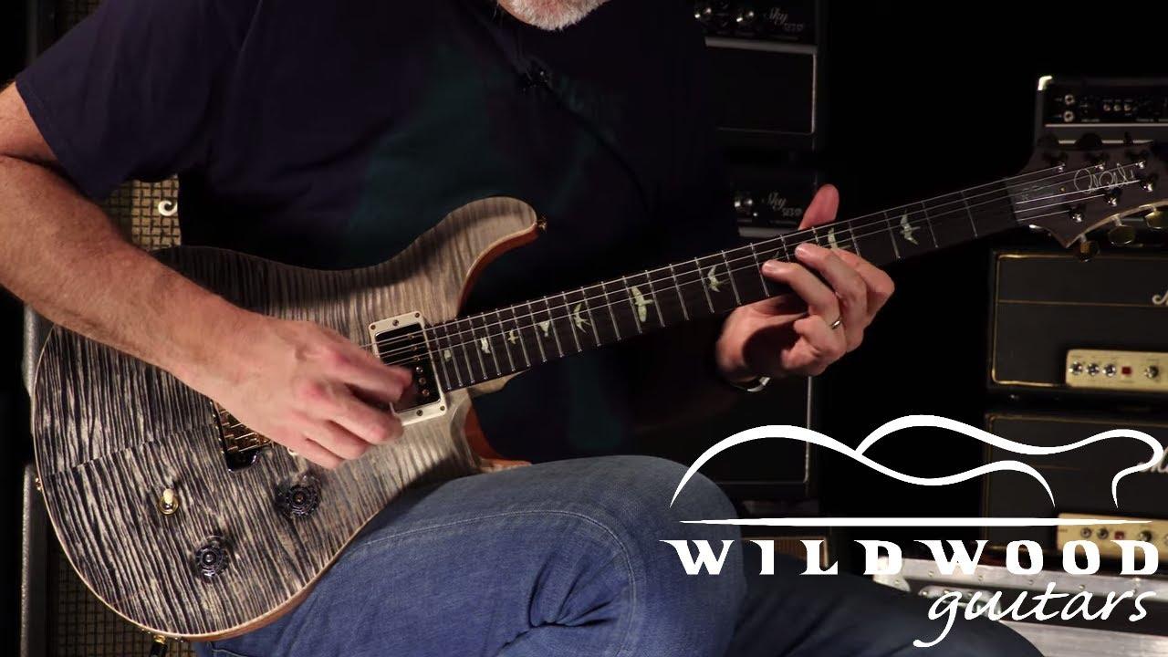 Download PRS Guitars Wildwood 35th Anniversary Wood Library Custom 24 Fatback  •  SN: 190291748