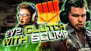 CLUTCHING UP IN SND WITH SCUMP!! (COD: BO4)