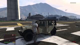 GTA V PS4 Invincibility cheat code Gameplay
