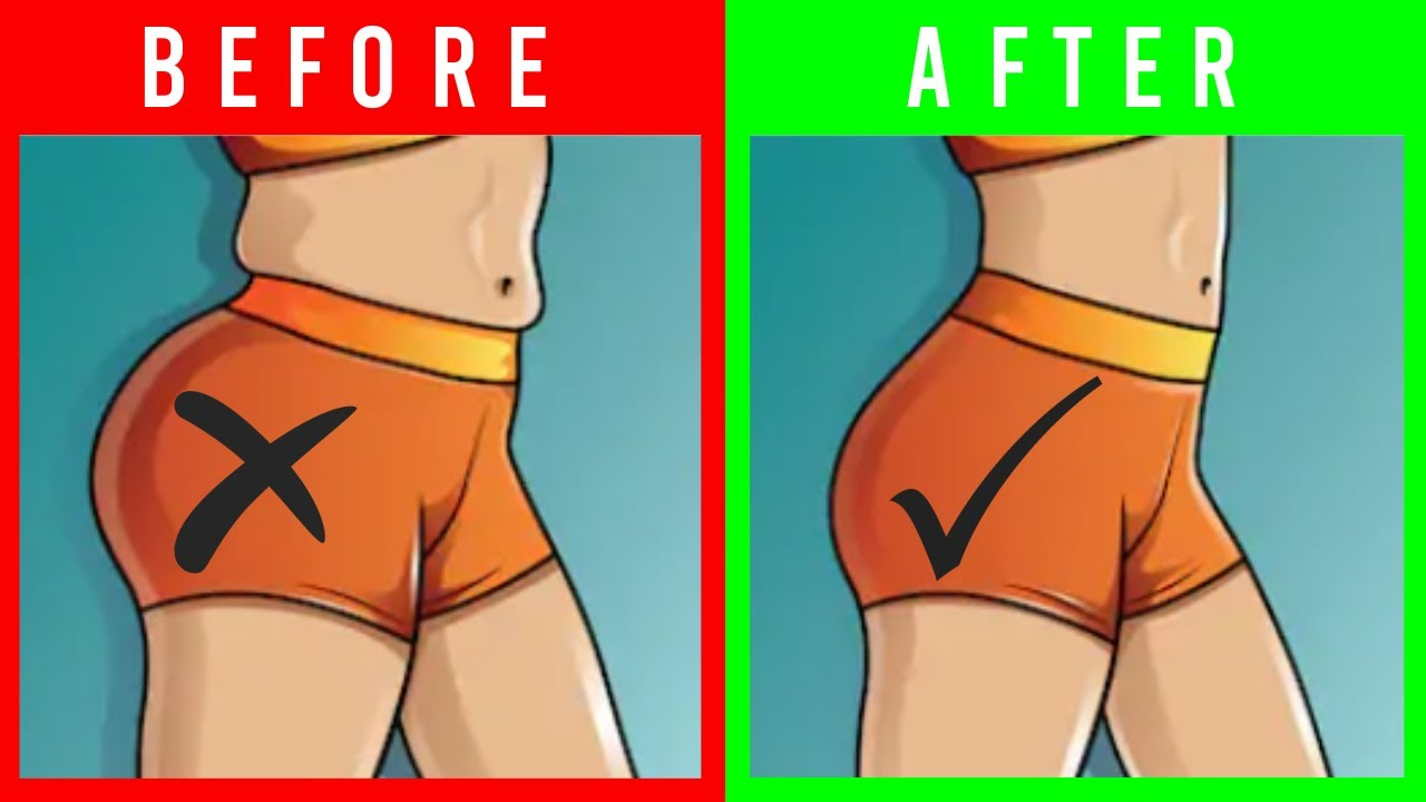 How To Decrease Butt Fat By Exercise  Reduce Butt Fat For Men And Women At  Home