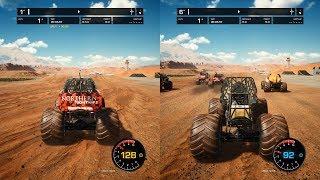 Monster Jam Steel Titans - Splitscreen Gameplay (PC HD) [1080p60FPS]