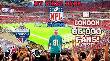 My FIRST NFL GAME EVER in LONDON! 85,000 Fans! (Houston Texans vs Jacksonville Jaguars)