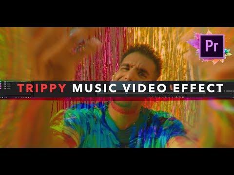 Trippy Music Video Editing Effect! (Adobe Premiere Pro)