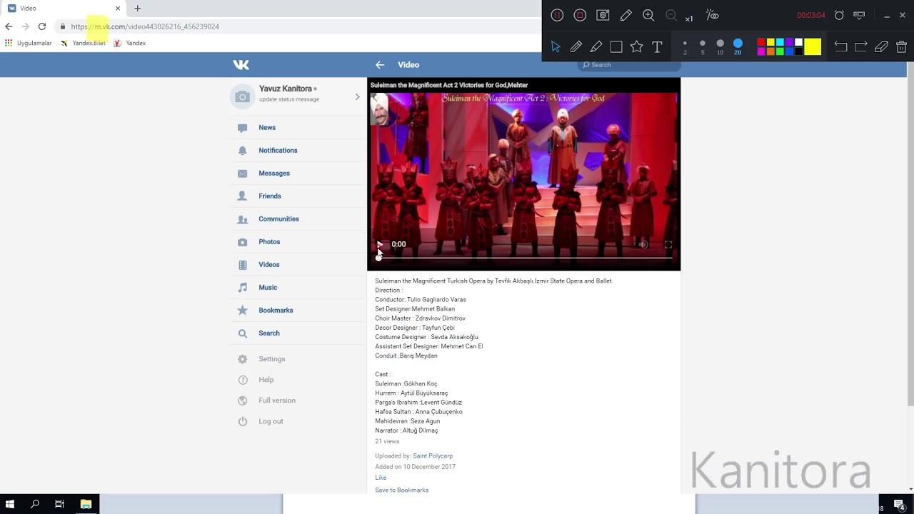 VK Video download