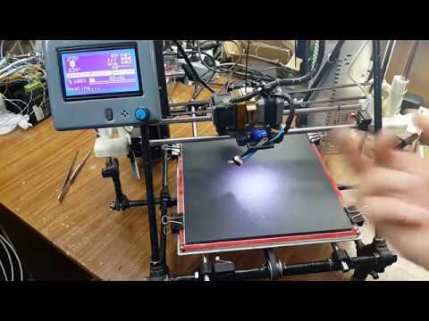 Автоуровень стола 3d принтера. Auto Leveling 3d Printer.