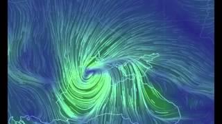 29.12. На Украину с Черного моря движется громадный циклон