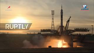 Kazakhstan: ISS Expedition 58/59 lifts off from Baikonur Cosmodrome