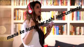 Mana ke hum yaar nahi instrumental | meri pyaari bindu | piano cover | karaoke | dr malay palan |