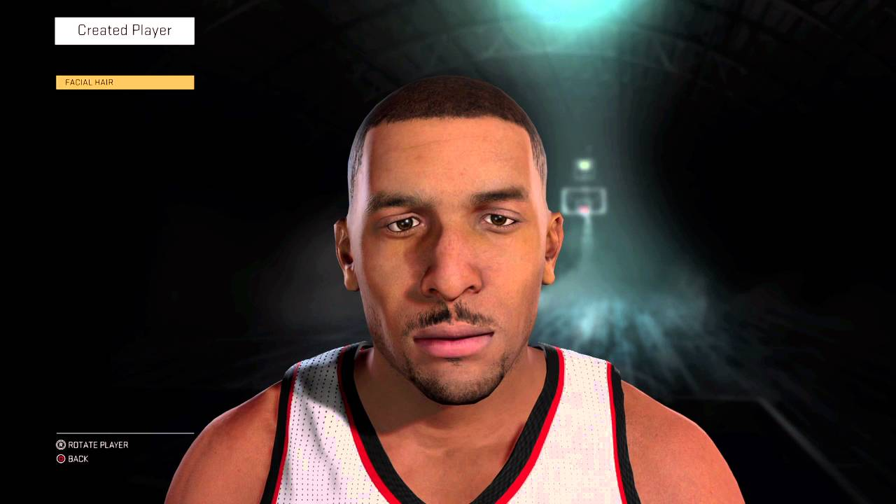 NBA 2K16 ef Abdur Rahim Creation Tutorial