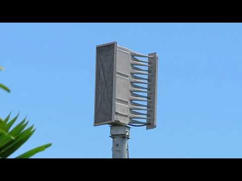 turkey-point-nuclear-siren-test-saga-bay-park-whelen-ws-3016-cutler-bay,-fl