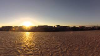 TimeLapse of Sunset - Old Town Alexandria - Nov 1 2013