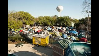 TENTS IN TOWN...BELLAIRE'S ULTIMATE URBAN CAMPOUT