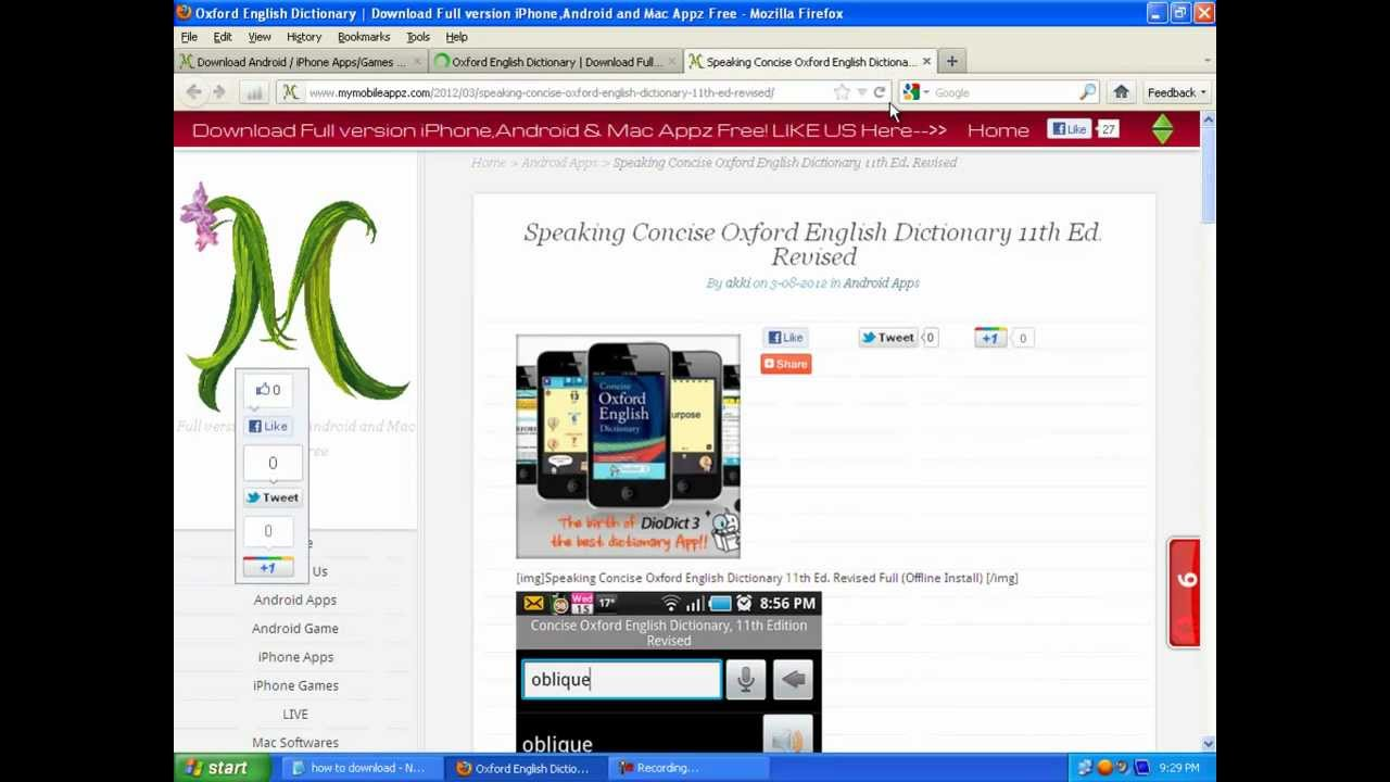 Oxford dictionary software full version for pc