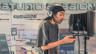Recording A Full Song!! (Studio Session #1 With Sharpe)