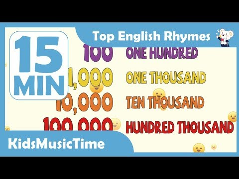 Big Numbers Song and more | + Compilation | KidsMusicTime Nursery Rhymes