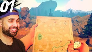ALONE IN THE FOREST | Firewatch - Part 1
