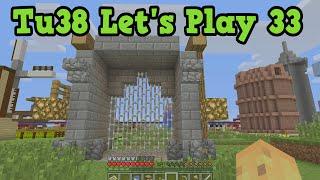 Minecraft TU38 Let's Play #33 - Battle Lobby Build