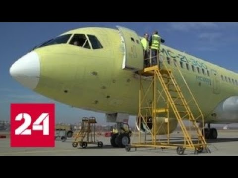 МС-21-300 совершил перелет из Иркутска в Ульяновск ...