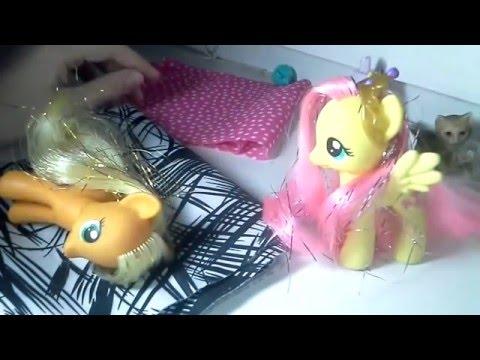 #ЛитлПони. Видео для девочек с игрушками пони - игры Дружба это чудо с Машей Капуки Кануки и Элис.