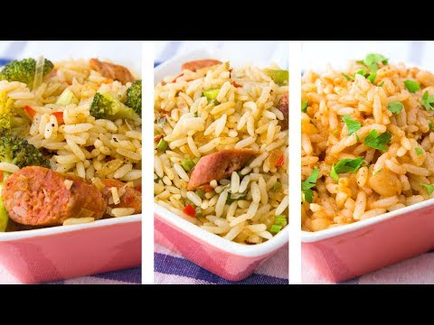 3 Healthy Rice Recipes For Weight Loss | Rice Recipes Easy