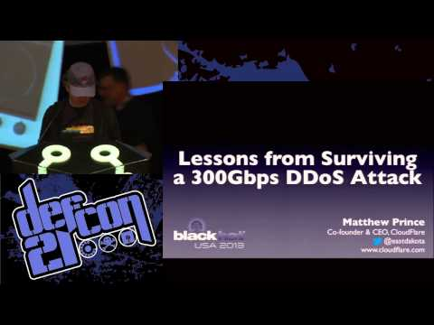 Defcon 21 - Evil DoS Attacks and Strong Defenses