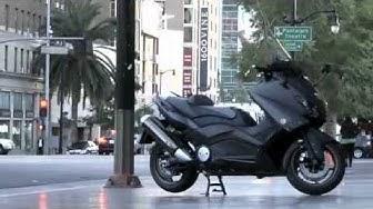 Yamaha TMax 530 2012 : L'essai Scooter-Station en direct de Los Angeles. Enjoy !