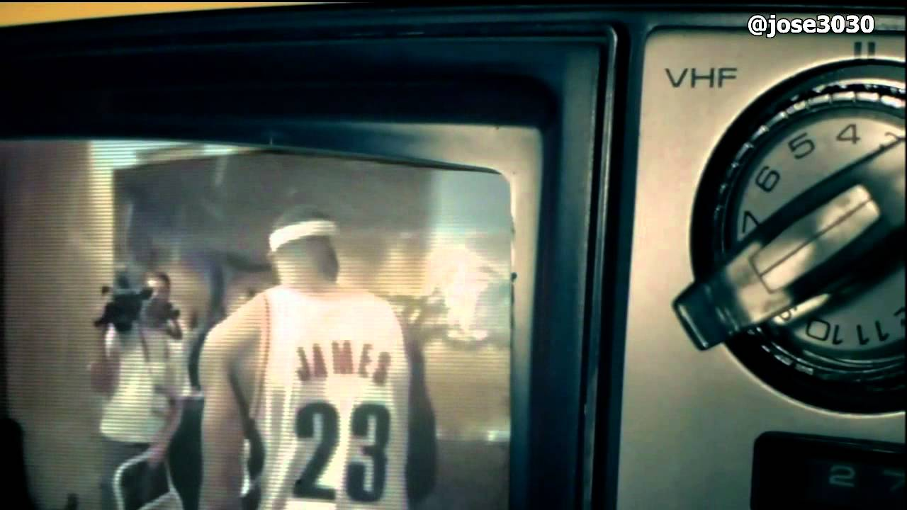 online retailer 38e86 779f2 LeBron James 2012 NBA Champion Nike Ad