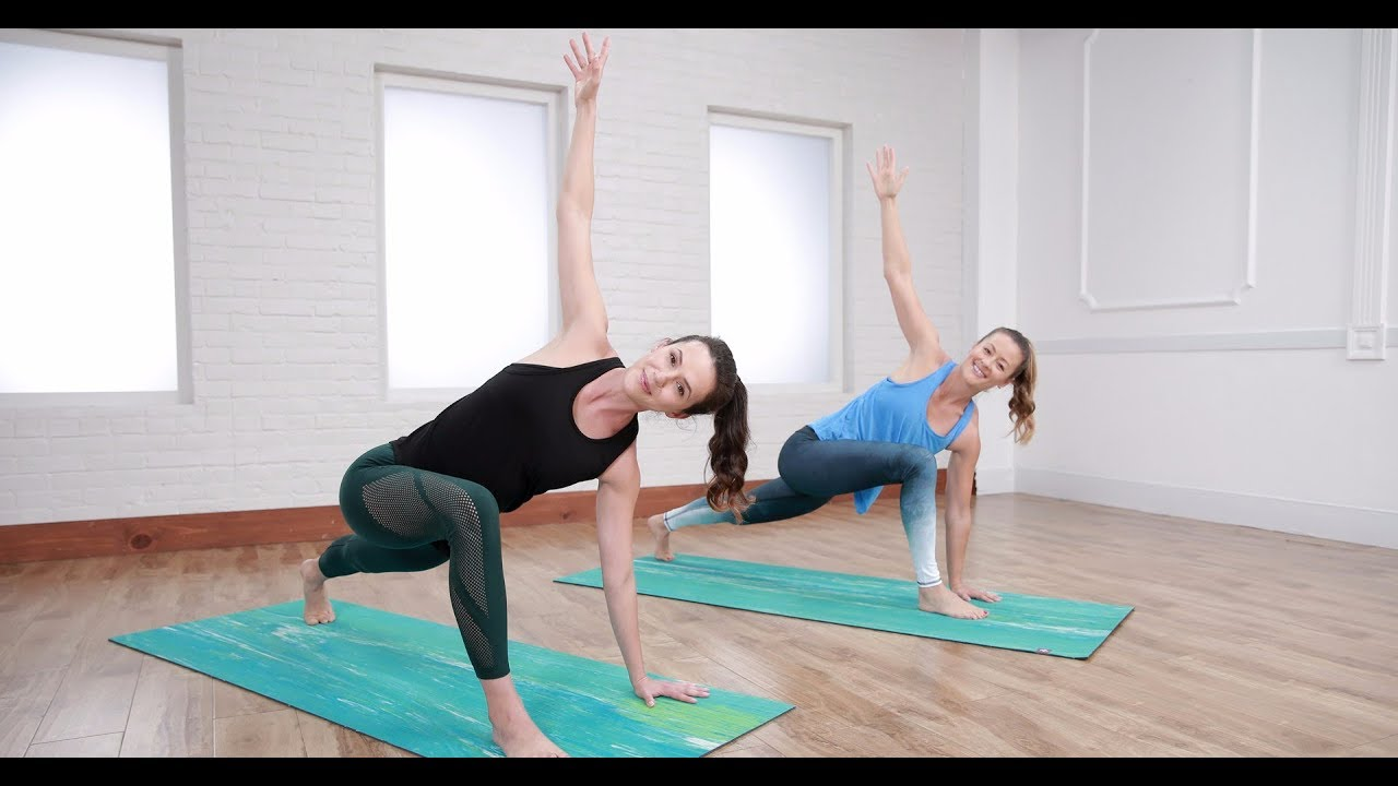 30-Minute Yoga With Adriene to Reduce Stress - YouTube
