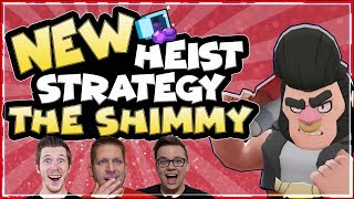 NEW OP HEIST STRATEGY! | Brawl Stars | The Shimmy with Kairos and DoingLife Lets play Epi 10