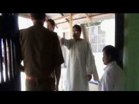 Caught on camera: Tripura MLA threatens cops