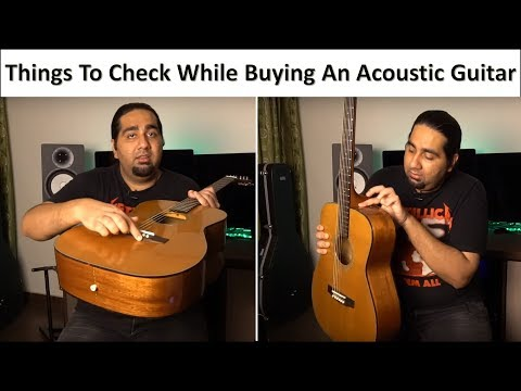 These tips can save you from buying bad and defected guitars