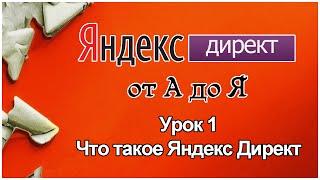 Яндекс Директ. Урок 1. Что такое Яндекс Директ (контекстная реклама)