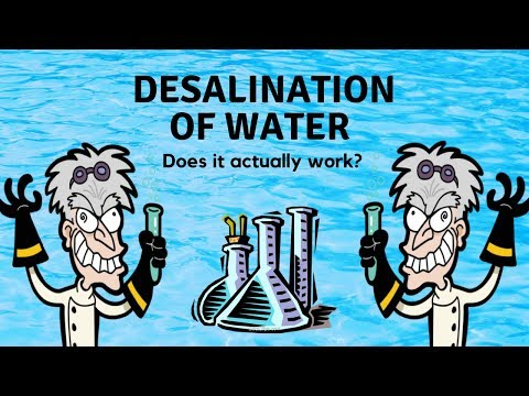 Desalination of Water | Convert Seawater into Freshwater | Science Experiment