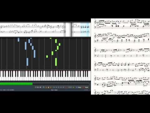 MapleStory - Raindrop Flower/Ereve (Synthesia Piano Tutorial)