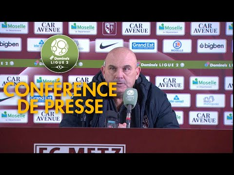 Conférence de presse FC Metz - Gazélec FC Ajaccio ( 1-0 )  / 2018-19