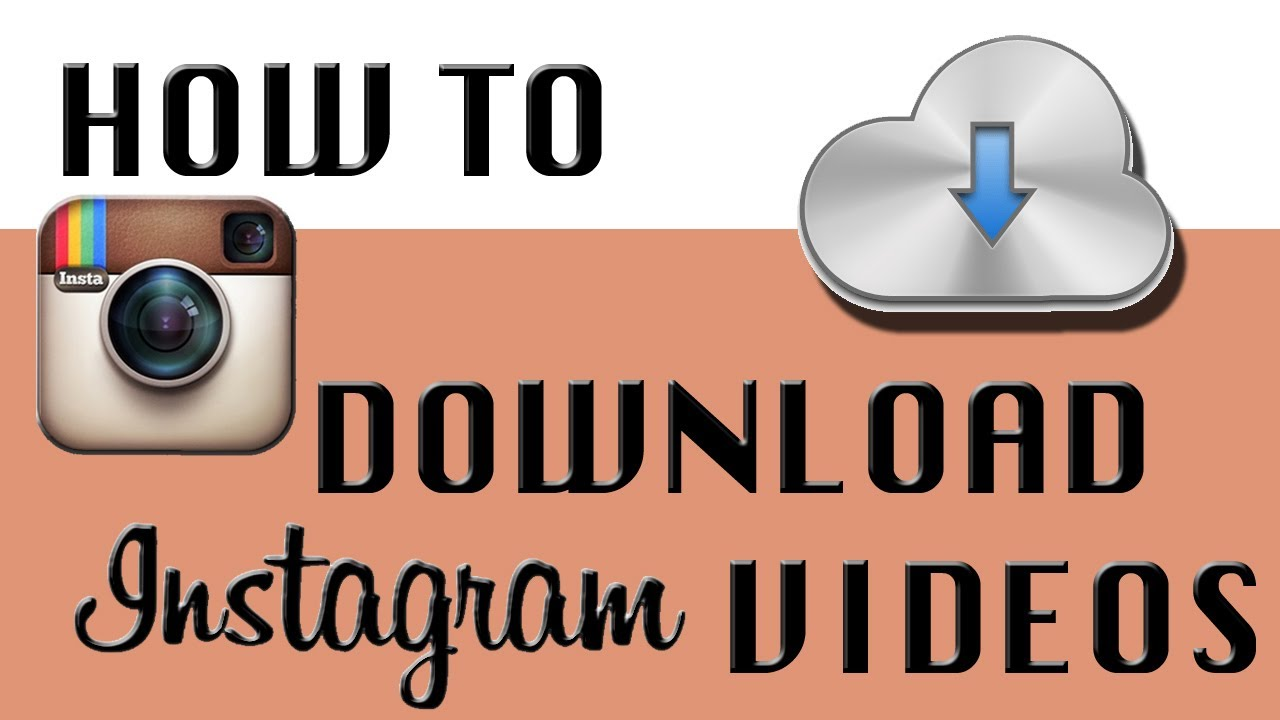 download instagram video