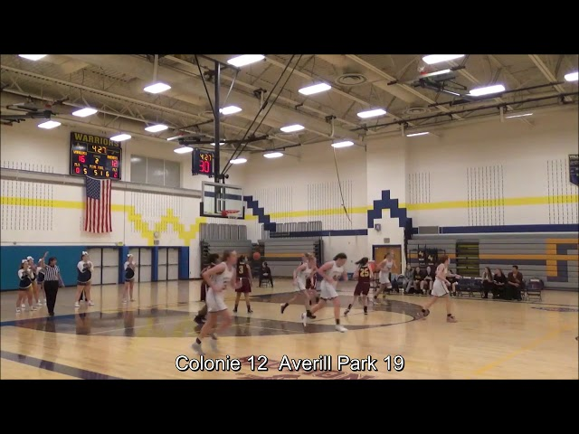 Game Highlights Girls' Varsity: Colonie 53 vs Averill Park 57 (F)