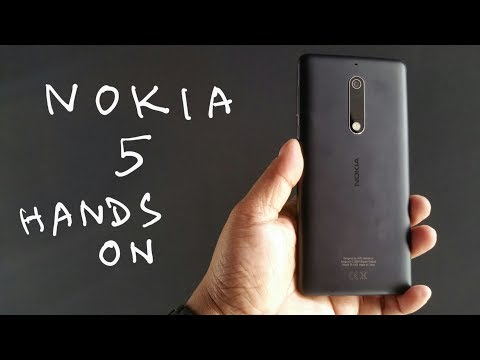 Nokia 5 Hands on Review - Nothing Wired