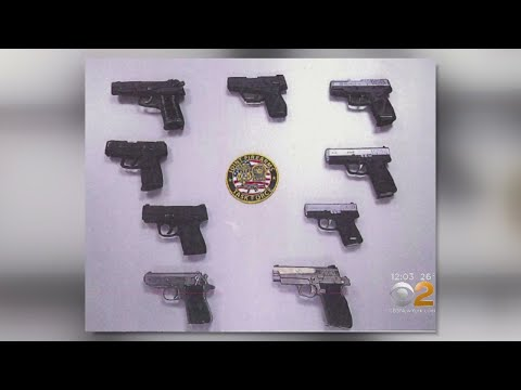 Police Search For 3rd Suspect In Gun Smuggling Ring