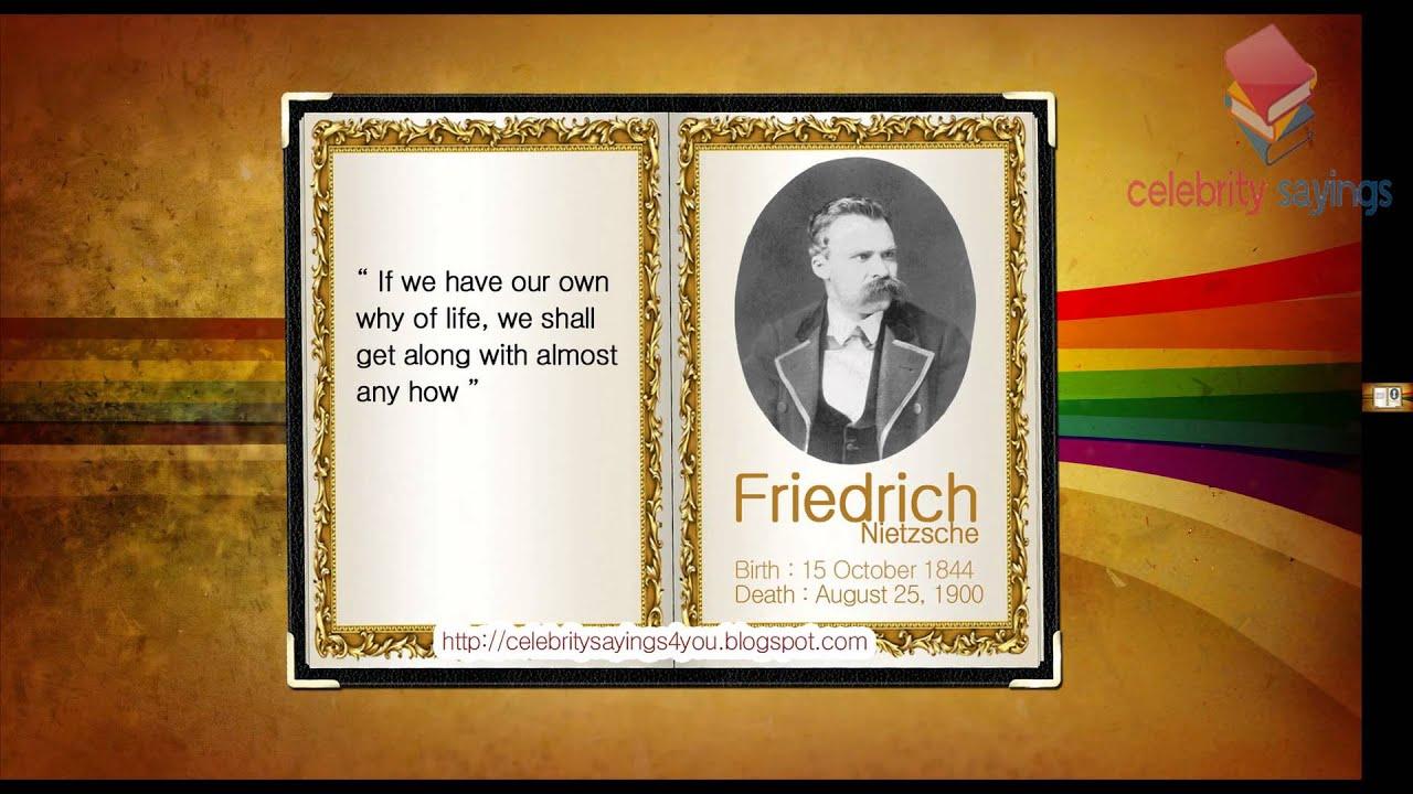 Friedrich Nietzsche Quotes Best Groups Nation Dragon Artist Youtube