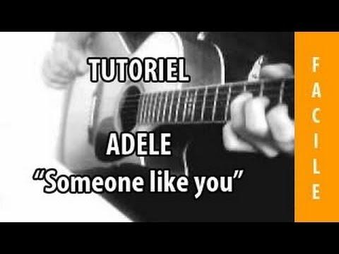 Someone Like You - Adele - Tuto Guitare