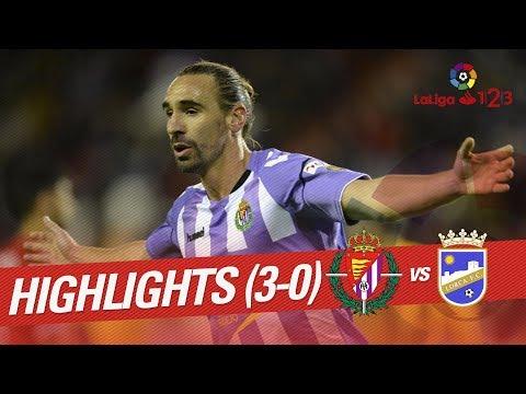 Resumen de Real Valladolid vs Lorca FC (3-0)