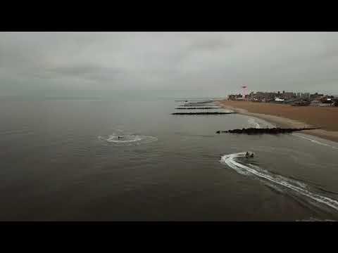 DJI Mavic Pro Brighton Beach Drone Shot Brooklyn New York 1080p