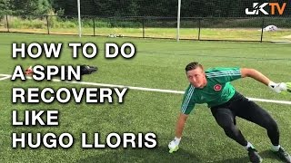 Goalkeeper Training Spin Recovery Like Hugo Lloris