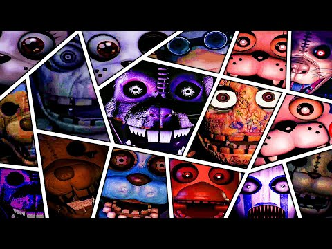 Five Nights at Candy's 1 2 3 All Jumpscares