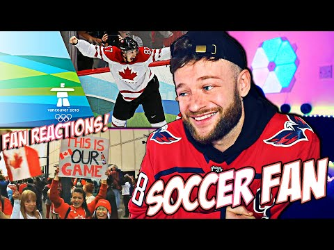 The Canada Vs USA Ice Hockey Gold Medal Match In Vancouver Was Unforgettable ! || REACTION
