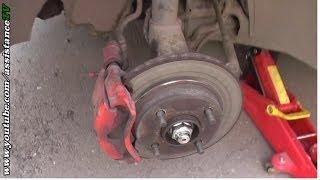 Ремонт Авто / Як замінити гальмівні колодки / Заміна передніх гальмівних колодок