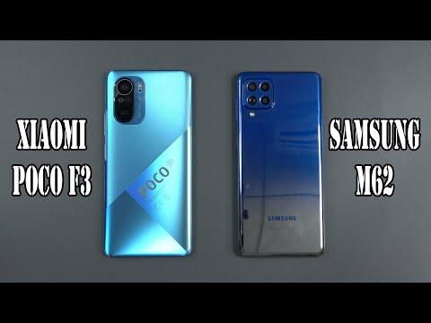 Xiaomi Poco F3 Vs Samsung Galaxy M62   SpeedTest And Camera Comparison