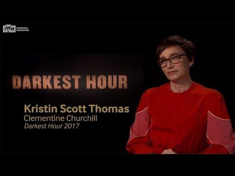 Darkest Hour - Kristin Scott Thomas and Clementine Churchill