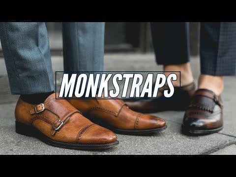 How To Style Monkstraps    6 Double Monks    Mens Fashion 2019